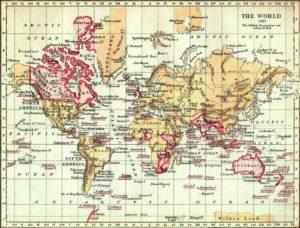 Het Britse Rijk in de Victoriaanse tijd (1897)