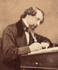 Victoriaanse schrijver Charles Dickens