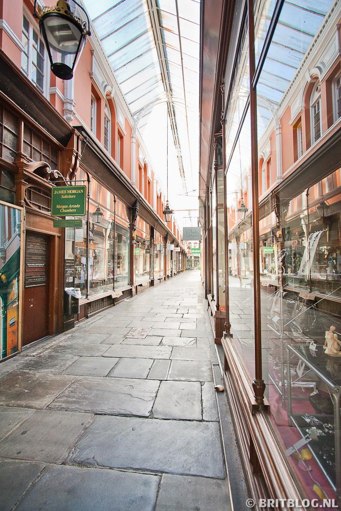 Cardiff Wandelroute: Morgan Arcade