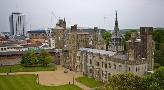 Wandelroute Cardiff Castle