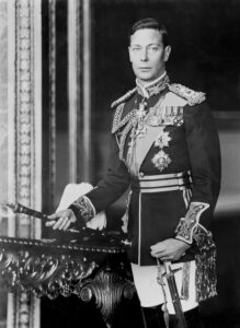 George VI, deel van the Royal Family