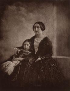 Queen Victoria met haar dochter Victoria