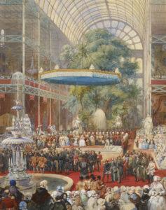 De eerste Great exhibition vond plaats tijdens de Victoriaanse tijd