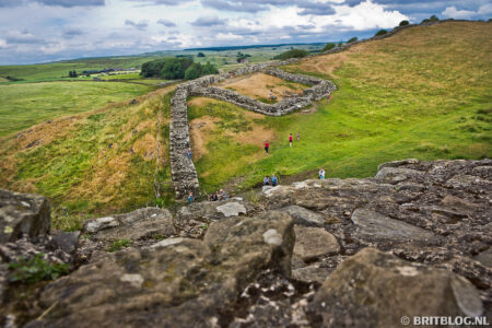 Wandelroute in Engeland: Hadrian's Wall Path