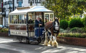 Douglas Bay Horse Tramway - paardentram Isle of Man