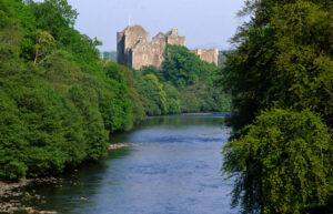Outlander locaties: Castle Leoch/Doune Castle