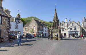 Falkland, aka Inverness in Outlander