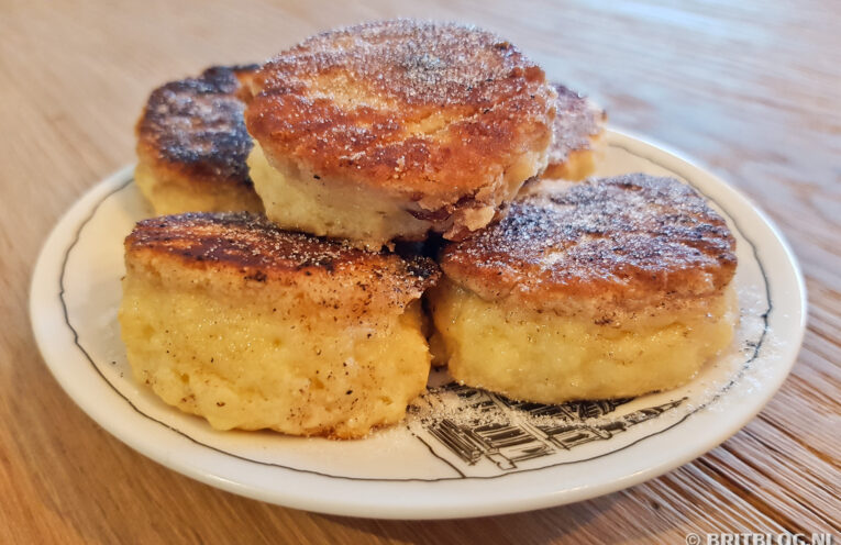 Recept Welsh cakes