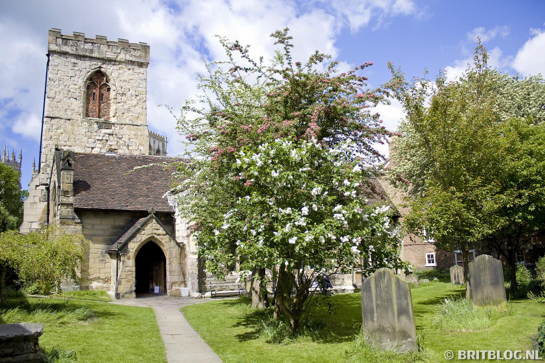 Holy Trinity Church tijdens de stadswandeling York