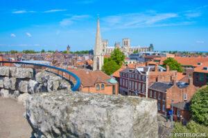 York vanuit Clifford's Tower
