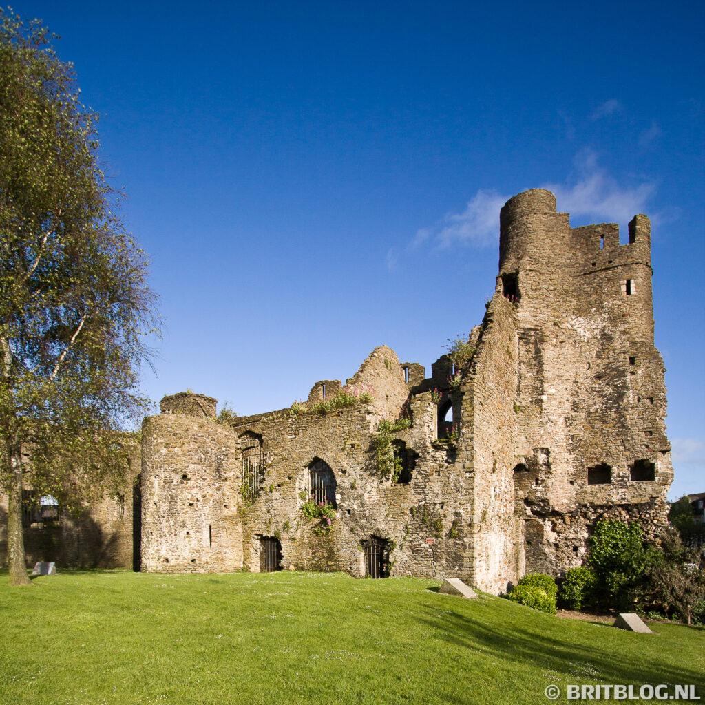 Het kasteel van Swansea