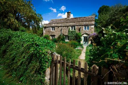 Pittoreske Brits dorp Lacock