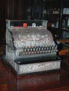oude kassa, voor Decimal Day
