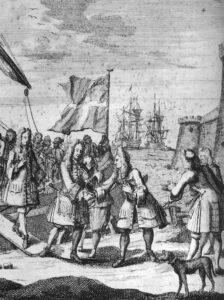 Jacobus Frans Eduard Stuart arriveert in Schotland in 1715