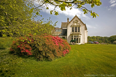 Achamore house & gardens on the isle of Gigha.