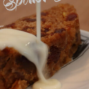 Spotted Dick recept