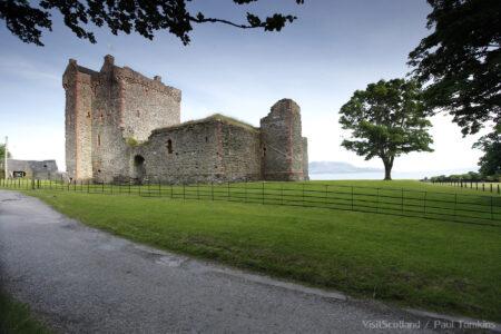 Skipness Castle, Skipness, Kintyre, Argyll.