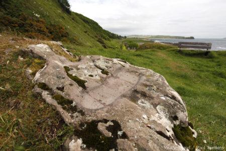 St Columba's Footprint, near Southend, Kintyre, Argyll.
