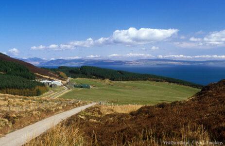 Arran vanuit Kintyre