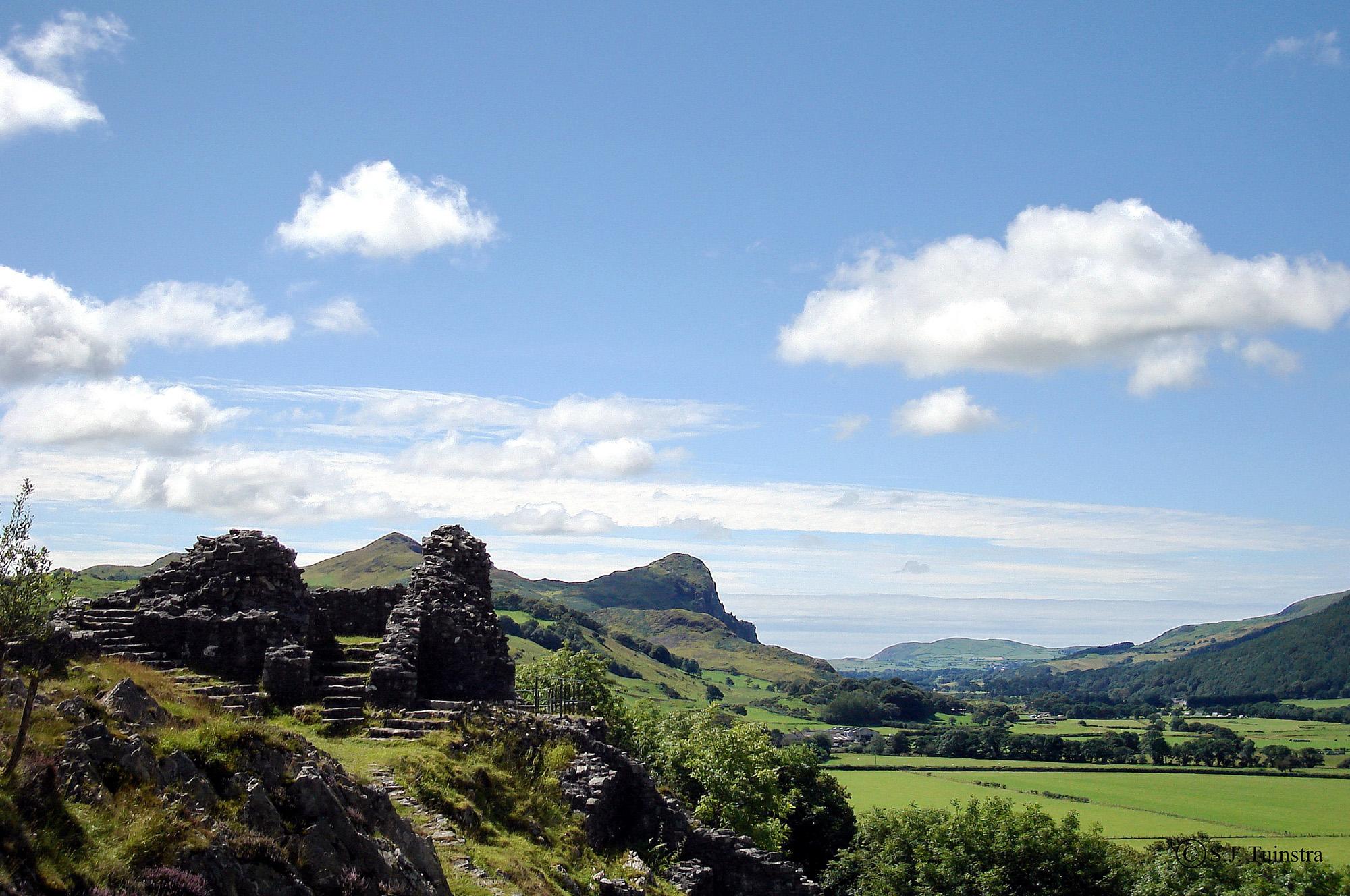 Bird's rock, Wales