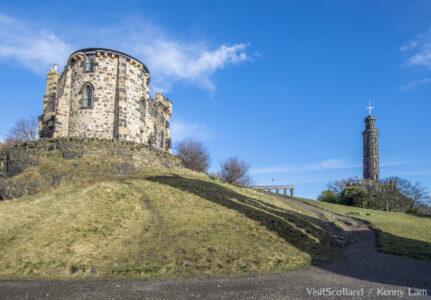 Observatory House , Calton Hill Edinburgh
