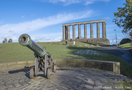National Monument of Scotland op Calton Hill, Edinburgh