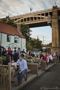 Gezelligheid aan de Tyne